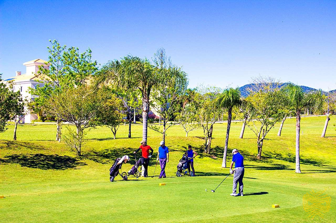 Campo de Golfe em Florianópolis